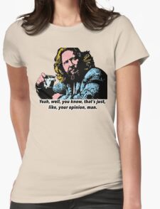 The Big Lebowski and Philosophy 1 Womens Fitted T-Shirt