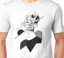 Skull and Woman 01 Unisex T-Shirt