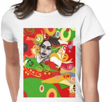 Pearlosophy fashion print inspired by Gustav Klimt Womens Fitted T-Shirt