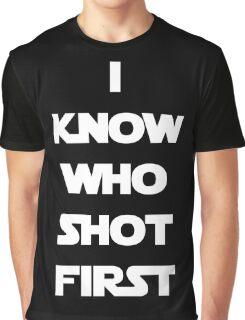 Shot First Graphic T-Shirt