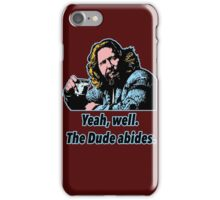 Big Lebowski Philosophy 7 iPhone Case/Skin