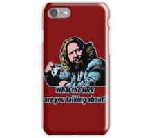Big Lebowsky Philosophy 8 iPhone Case/Skin