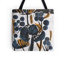 Natural Form Relief Print Tote Bag