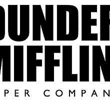 Dunder  Mifflin - The office  by rosewelldesigns