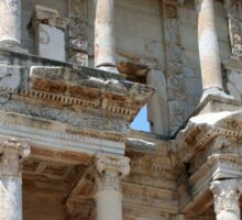 Library of Celsus, Ephesus Ancient City, Turkey Sticker