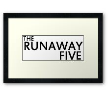 Earthbound - The Runaway Five Framed Print