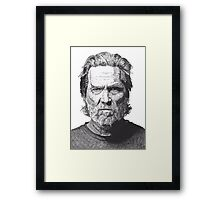 Jeff Framed Print