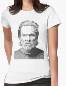 Jeff Womens Fitted T-Shirt