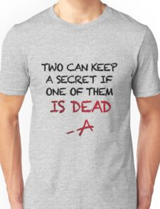 PLL Theme Song (Pretty Little Liars) Unisex T-Shirt