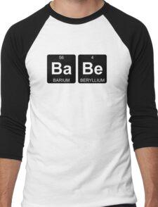 Ba Be - Babe - Periodic Table - Chemistry Men's Baseball ¾ T-Shirt