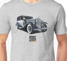 Historic gangster car Unisex T-Shirt