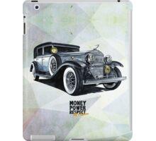Historic gangster car iPad Case/Skin