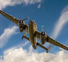 B-25J Mitchell 44-29507 N320SQ 'Sarinah' by Colin Smedley