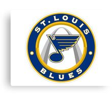 St. Louis Blues Canvas Print