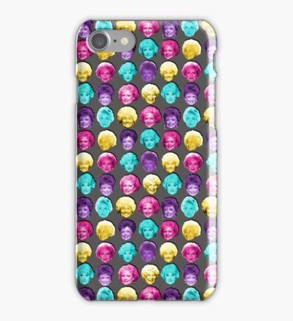 The Golden Girls - Technicolor Pop Print iPhone Case/Skin