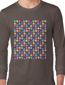 The Golden Girls - Technicolor Pop Print Long Sleeve T-Shirt
