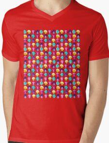 The Golden Girls - Technicolor Pop Print Mens V-Neck T-Shirt