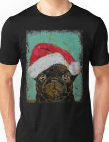 Santa Pug Unisex T-Shirt