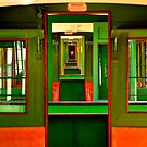 in the train by Daidalos