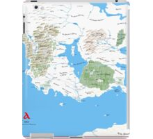 The Continent of Virdea iPad Case/Skin
