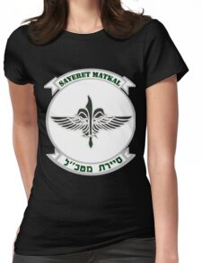 Sayeret Matkal Logo for Dark Colors Womens Fitted T-Shirt