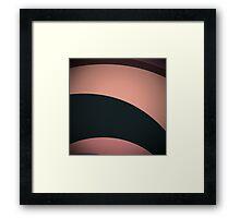 Pink Manx Framed Print
