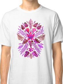 Tropical Symmetry – Magenta Classic T-Shirt