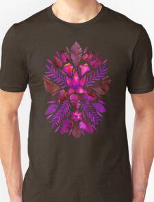 Tropical Symmetry – Magenta T-Shirt