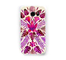 Tropical Symmetry – Magenta Samsung Galaxy Case/Skin