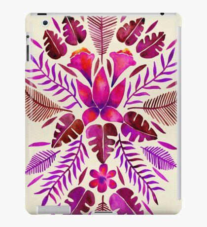 Tropical Symmetry – Magenta iPad Case/Skin