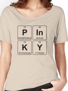 P In K Y - Pinky - Periodic Table - Chemistry - Chest Women's Relaxed Fit T-Shirt
