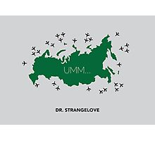 Dr. Strangelove Poster Photographic Print