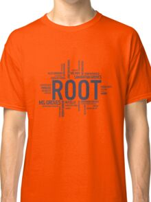 Root Identities - Person Of Interest Classic T-Shirt