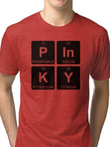 P In K Y - Pinky - Periodic Table - Chemistry - Chest Tri-blend T-Shirt