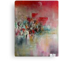 The  Red City Canvas Print