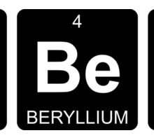 Ba Be S - Babes - Periodic Table - Chemistry Sticker
