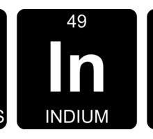 P In K - Pink - Periodic Table - Chemistry Sticker