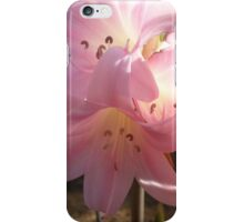 Flamingo Flowers iPhone Case/Skin