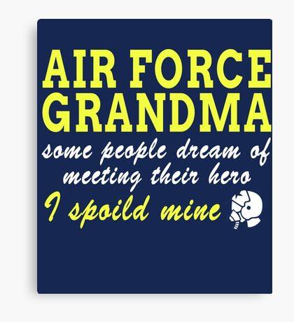Air Force Grandma Canvas Print