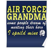 Air Force Grandma Poster