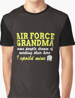 Air Force Grandma Graphic T-Shirt