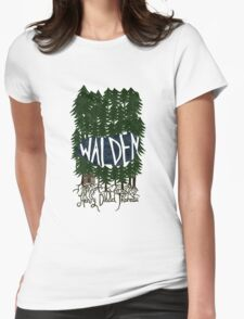 Walden (colour) Womens Fitted T-Shirt
