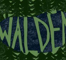 Walden (colour) Sticker