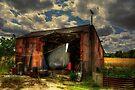 Rats Castle Farm Grain Barn by Nigel Bangert