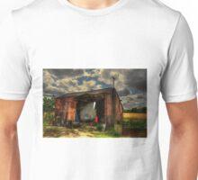 Rats Castle Farm Grain Barn Unisex T-Shirt