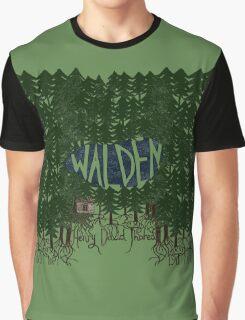 Walden (colour) Graphic T-Shirt