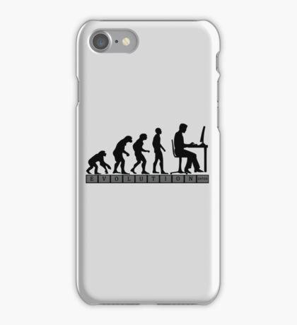 computer evolution iPhone Case/Skin