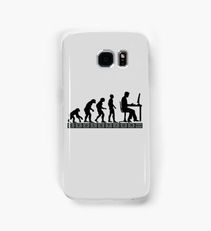 computer evolution Samsung Galaxy Case/Skin