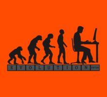 computer evolution Kids Tee