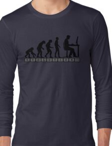 computer evolution Long Sleeve T-Shirt